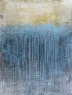 "David Fredrik Moussallem -""Alternative Souls"" / 36"" x 48"" / Acrylic on panel Toronto Abstract Artist - Works"