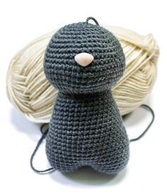Crochet mouse couple pattern - legs body and head