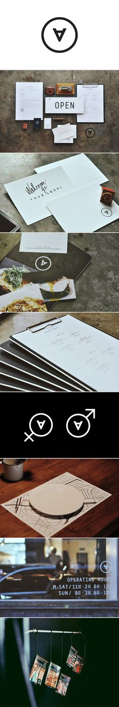 Brand / Identity design / your local - restaurant