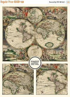 Cotton renaissance man world map mapping skills tancream cotton christmas season sale 15 off all products in our shop the discount is already included in the price sale will last till december 23rd gumiabroncs Images
