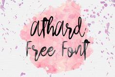 DLOLLEYS HELP: Arthard Free Font