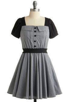 Coaster Swing Step Dress from Modcloth.com. Such a retro-style item that I'd love to have. I have always believed I was born in the wrong century!