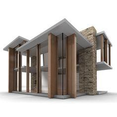 modern doll house by brinca dada