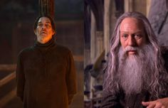 Ciarán Hinds as Mance Rayder - Before he played the leader of the Free Folk, Ciarán Hinds had starred in many big-name films including 2005's Munich, There Will Be Blood in 2007, and he even did some vocals for 2013's animated juggernaut Frozen. Most notably, however, Hinds played Albus Dumbledore's estranged brother, Aberforth, in Harry Potter and the Deathly Hallows: Part 2. (People always forget Aberforth, indeed.)