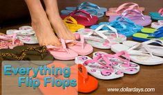OMG...Flip Flop heaven at DollarDays.com!  I went crazy shopping.  See the fun: http://dollardays.com/wholesale-flip-flops-and-sandals.html
