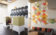Ginkgo – Panel acústico | Stone Designs                                                                                                                                                                                 Más