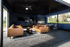 Room of the Day: California Dreamin' Meets Ultimate Man Cave