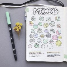 13 More Mood Tracker Ideas For Your Bullet Journal To Help Better Your Mental Health Mood trackers can help to improve your mental health! Click through to find 13 (more) mood tracker ideas for your bullet journal! Bullet Journal Tracker, Bullet Journal Planner, Bullet Journal Mood Tracker Ideas, Bullet Journal Headers, Bullet Journal Themes, My Journal, Bullet Journal Layout Ideas, Bullet Journal Mental Health, Bullet Journal August