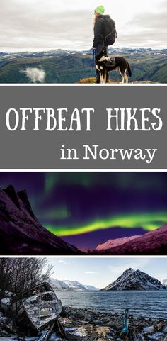 Norway Travel Tips l Best off the beaten path hikes in Norway to tick off your bucket list. Norway Destination Guide for Outdoor Lovers.