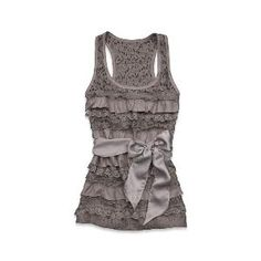 Abercrombie & Fitch - Shop Official Site - Womens - Tops - Tanks & Camis - Pretty - Carissa This tank is so pretty!