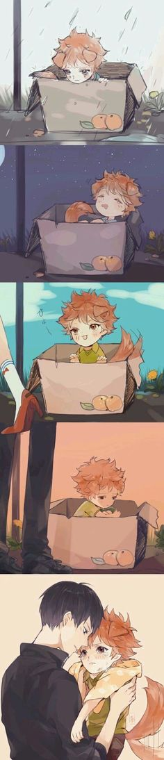 Haikyuu Kageyama, Haikyuu Manga, Hinata, Haikyuu Fanart, Haikyuu Ships, Anime Chibi, Kawaii Anime, Manga Anime, Fanarts Anime