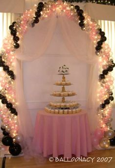 Classic Arch NYEThis New Years Eve wedding was a huge hit!  Illumination available on all classic wedding arches. Click To Zoom