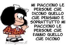 Mafalda e una grande verità - Clicca qui per condividere