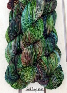 Sadie Sock HT 100g, Hand dyed yarn, Superwash merino wool, Single ply, 400 yds: Fairy Garden. by Lambstrings on Etsy