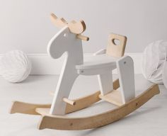 How cute is this rocking horse?!
