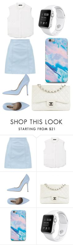 """Untitled #152"" by victoria1221 ❤ liked on Polyvore featuring New Look, MANGO, Norma J.Baker and Chanel"