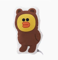 LINE Friends Shaped cushion Sally Brown clothing Character Doll Gift Toy GENUINE #LINEFriends #Dolls