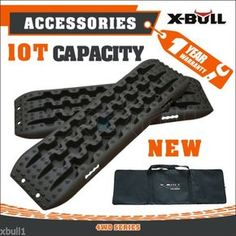 X-BULL-NEW-Recovery-Tire-Traction-Mats-Tracks-Sand-Mud-Snow-Pair-Black-4WD $100 w/case Overland Gear, Overland Trailer, Jeep Wj, Jeep Wrangler Yj, Offroad, Nissan Frontier, Nissan Xtrail, Tacoma Truck, Truck Bed Accessories