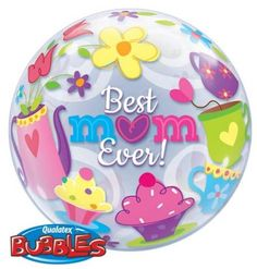 Best mum ever bubble balloon http://www.wfdenny.co.uk/p/best-mum-ever-bubble-balloon/5404/