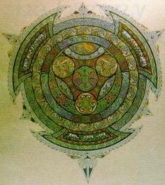Cadhas do Bhrighde. A token of respect to Brigid. By Professor Alexander John Haddow Celtic Goddess, Celtic Mythology, Goddess Of The Hearth, Jesus In The Temple, St Brigid, Book Of Kells, Triple Goddess, Celtic Art, Celtic Designs