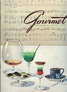Gourmet March 1942//
