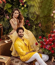 The latest B-town couple, Shahid Kapoor and Mira Kapoor graced the cover of Vogue India this month. The couple featured in Vogue Wedding Book.