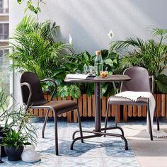 Balkonmöbel set ikea  DYNING Canopy, white | Canopy, Backyard and Gardens