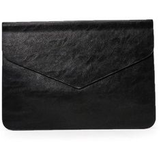 Nasty Gal WANT Keep Me Posted Envelope Clutch ($28) ❤ liked on Polyvore featuring bags, handbags, clutches, black, faux leather handbags, vegan leather purses, flap purse, faux leather envelope clutch and vegan purses Fashion leather articles at 60 % wholesale discount prices #leather #leatherjacket #leatherfashion