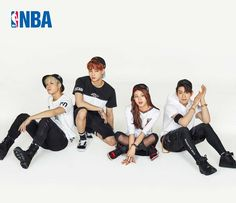 Clothing Brand NBA Style Photoshoot Features GOT7 and TWICE's Chaeyoung | Koogle TV Nayeon, Kpop Girl Groups, Korean Girl Groups, S Girls, Kpop Girls, Twice Photoshoot, Nba Fashion, Chaeyoung Twice, Dahyun