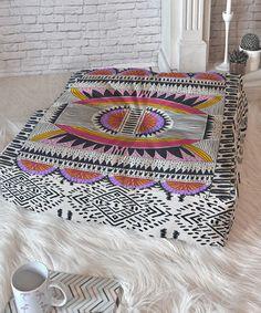 This Holli Zollinger Namais Floor Pillow is perfect! #zulilyfinds