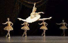 Mayara Magri of the Royal Ballet School in Paquita. Photograph : Johan Persson