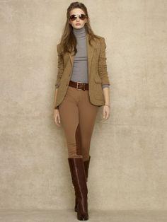 Veste Claremont à chevrons - Blue Label Vestes et Manteaux - Ralph Lauren France