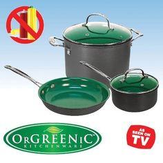 Telebrands Orgreenic 5-piece Cookware Set by OrGREENIC, http://www.amazon.com/gp/product/B0089M3AYY/ref=cm_sw_r_pi_alp_88garb1QSKPJ2