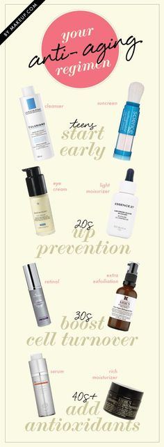 how to prevent wrinkles at any age // experts say it's never too early to start a good skincare routine!
