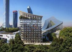 Архитектурная компания BIG построит новое здание в центре Милана. Датская архитектурная студия BIG .