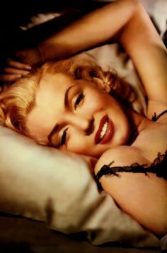 "Marilyn Monroe lying down photo.  She is stunning.  ""I'm selfish, impatient and a little insecure. I make mistakes, I am out of control and at times hard to handle. But if you can't handle me at my worst, then you sure as hell don't deserve me at my best.""  - Marilyn Monroe  That's how we all are don't you think?"