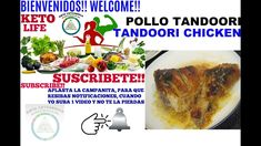 POLLO TANDOORI, TANDOORI CHICKEN Pollo Tandoori, Tandoori Chicken, Keto Recipes, Beef, Food, Ketogenic Recipes, Diets, Meat, Essen