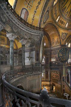 The Hagia Sophia, Istanbul, Turkey