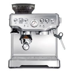 Home | Espresso Machines | Barista Express Espresso Maker   This is one of my favorite things at home.  This espresso maker allows you to control the whole coffee preparation process and is a joy to use.  Well suited for both beginner and seasoned home baristas. Make sure you check out the specification of the espresso maker by clicking on this pin. This machine is just excellent for its price. #coffee #espresso #espresso_maker