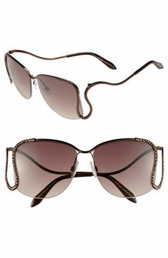 Roberto Cavalli 'Serpent Drop' Sunglasses available at Nordstrom