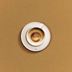 """""""Mais um cafézinho?"""" by @usenotordinary  Disponível aqui http://ift.tt/2k8YVFP em camiseta poster almofada e mais! #artetododia #movidoapessoasincriveis"""