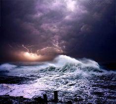Magnificent Photos of Ocean Storm by Dalton Portella