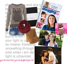 """Angus, Thongs, and Perfect Snogging"" by volleyball292 on Polyvore"