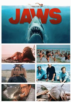 Jaws (1975) - Directed by Steven Speilberg-saw it twice-once in Staten Island and again in New Paltz in Upstate, NY (Mohonk Mt) on a family weekend getaway with our family friends The Hermann's at their friends summer home.