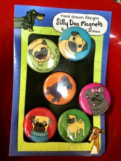 cute pug pins @Caitlin Crone I need these!