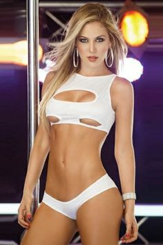 e0d0947b62 Lingerie and Bikini Sets Sexy Keyhole Cup Set Color  White Sizes  One Size  Sexy Affordable Sexy Lingerie