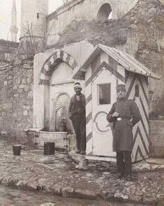 Sultanahmet Camii Çeşmesi #birzamanlar #istanlook #nostalji