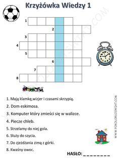 krzyżówki zimowe do wydruku - Szukaj w Google Crossword, Google, Crossword Puzzles