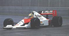 1990 Ayrton Senna; Mc Laren MP4/5B Honda