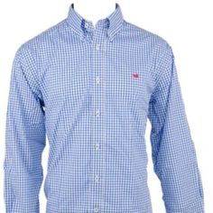 Men's Long Sleeve Southern Marsh Seller's TOP Pick!! SOUTHERN MARSH GADWALL GINGHAM leaves any Gentleman perfectly dressed for whatever casual occasion may arise. The cotton is a woven lightweight, two coloured yarns in a classic checked pattern. Accented with a finely stitched Southern Marsh duck and cut with a traditional fit. Size M, like new! Excellent Condition! Southern Marsh  Tops Button Down Shirts